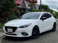 Pearl White Mazda 3 2015 for sale in Automatic