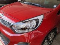 Selling Red Kia Rio 2017 in Pateros