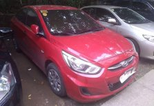Selling Red Hyundai Accent 2018 in Quezon City