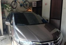 Grey Honda City 2012 for sale in Valenzuela
