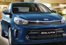 Sell Blue 2020 Kia Soluto in Quezon City