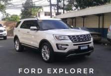 Sell Pearl White 2016 Ford Explorer in Manila