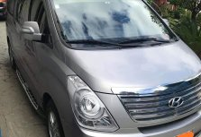 Silver Hyundai Starex 2016 Van for sale in Taytay