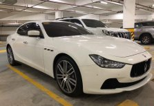 Selling White Maserati Ghibli 2016 Sedan in Manila