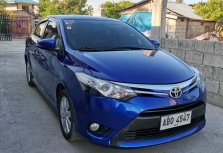 Blue Toyota Vios 2015 Sedan for sale