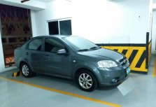 Grey Chevrolet Aveo 2007 Sedan for sale in Manila