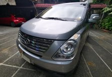 Grey Hyundai Starex 2015 for sale in Caloocan City