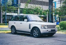 Selling White Land Rover Range Rover 2003 in Antipolo