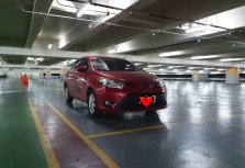 Sell Red 2017 Toyota Vios in Taytay