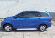 Blue Toyota Avanza 2016 SUV / MPV at Automatic  for sale in Manila
