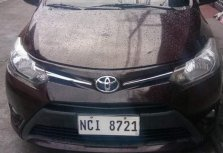 Brown Toyota Vios 2017 for sale in Manila