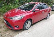 Red Toyota Vios 2015 Sedan for sale in Aurora