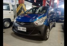 Selling Blue Hyundai Eon 2016 in Quezon