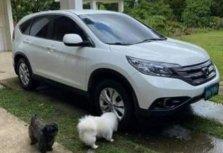 Sell White 2012 Honda Cr-V in Mandaluyong