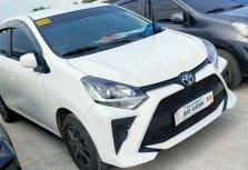 White Toyota Wigo 2021 for sale in Manual