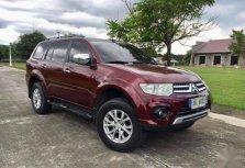 Selling Red Mitsubishi Montero 2014 in Quezon City