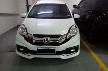 Well-maintained Honda Mobilio 2016 for sale