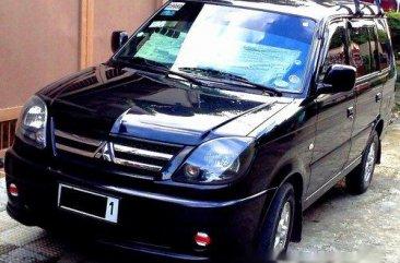Black Mitsubishi Adventure 2010 Manual Diesel for sale