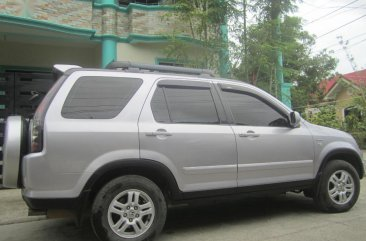 Silver Honda Cr-V 2003 for sale in Kalibo