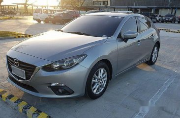 Silver Mazda 3 2014 Hatchback  for sale