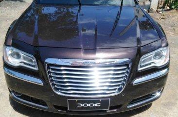 Black Chrysler 300c 2015 for sale in Daraga