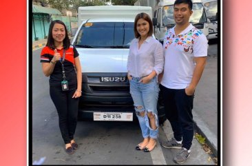 Sell White 2020 Isuzu D-Max in Pasig City