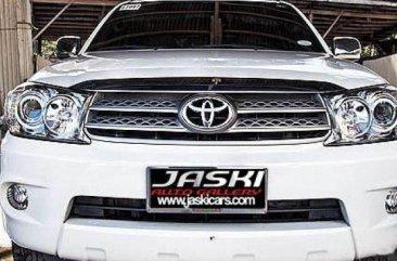 Selling White Toyota Fortuner 2007 SUV / MPV in Cebu City