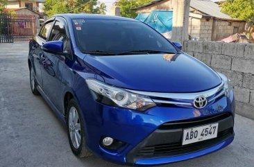 Blue Toyota Vios 2015 Sedan for sale