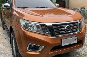 Orange Nissan Navara 2015 for sale in San Mateo