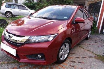 Selling Red Honda City 2017 in Manila
