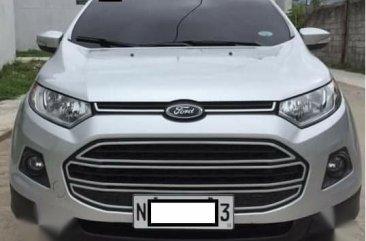 Silver Ford Ecosport 2017 for sale in Malabon City