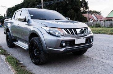 Sell Silver 2015 Mitsubishi Strada in Bacoor