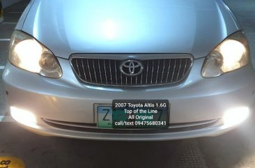 Selling Silver Toyota Altis 2007 in Manila