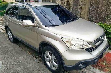 Silver Honda Cr-V 2007 for sale in Quezon City