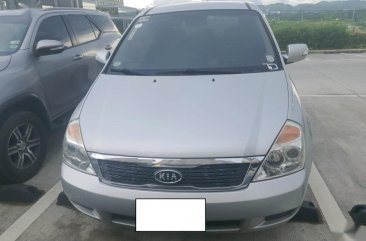 Sell Silver 2012 Kia Carnival in Angeles