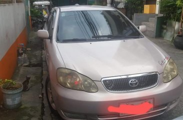 Silver Toyota Corolla Altis 2002 for sale in Manila