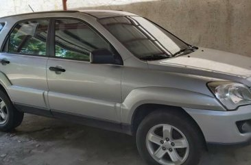 Silver Kia Sportage 2009 for sale in Muntinlupa