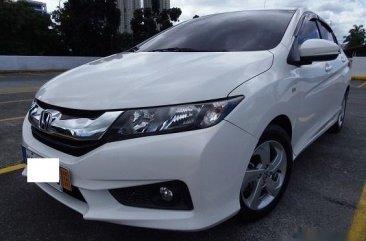 White Honda City 2017 Sedan at 19000 km for sale in Manila