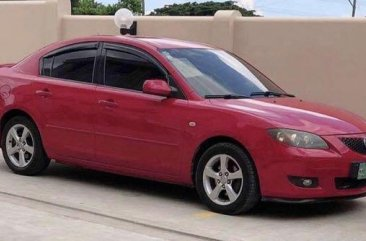 Pink Mazda 3 2004 for sale in Batangas