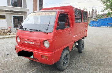 Red Suzuki Multicab 2011 for sale in Taytay