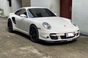 Selling White Porsche 911 997 Turbo 2008 in Quezon