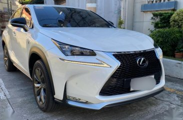 White Lexus NX 2015 for sale in Pasig