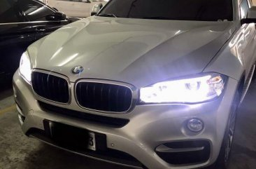 Brightsilver BMW X6 2016 for sale in Mandaluyong