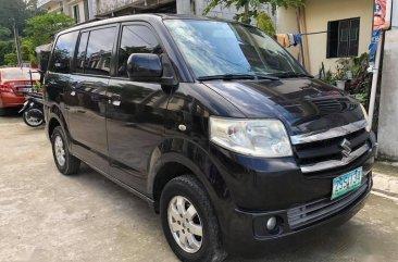 Selling Black Suzuki APV 2009 in Quezon