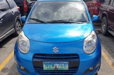 Selling Blue Suzuki Celerio 2010 in Manila