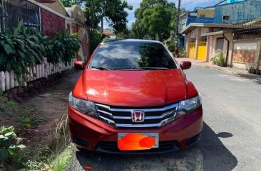 Red Honda City 2012 for sale in Caloocan