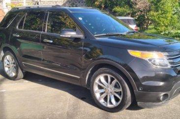 Black Ford Explorer 2013 for sale in San Pedro