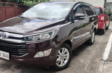 Selling Red Toyota Innova 2016 in Quezon