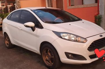 Sell White 2014 Ford Fiesta in Imus