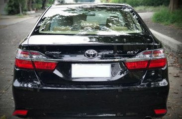 Black Toyota Camry 2016 for sale in Muntinlupa